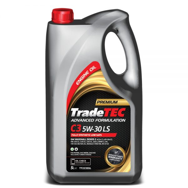 TradeTEC C3 5W-30 LS Fully Synthetic Oil