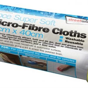 Streetwize Microfibre Cloths - 6