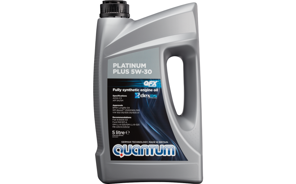 Quantum Platinum Plus 5W-30 Fully Synthetic Engine Oil