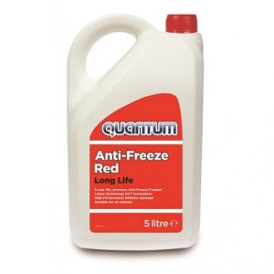 Quantum Longlife Red Antifreeze & Coolant 5L
