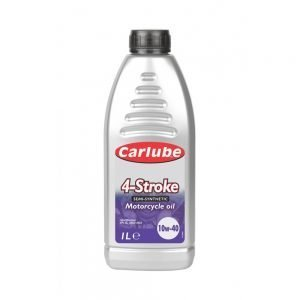 Carlube 4-Stroke Semi-Synthetic Motorcycle Oil - 1L