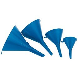 Draper Plastic Funnel Set - 4 piece