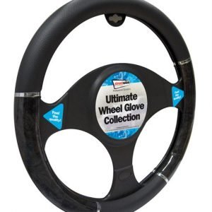 all black steering wheel