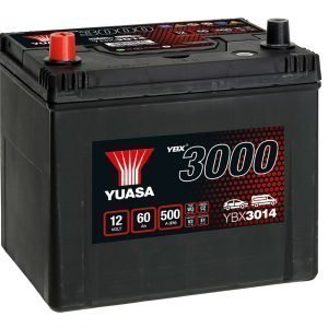 Yuasa YBX3014 Car Battery