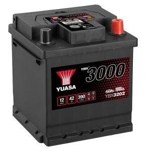 Yuasa YBX3202 Car Battery