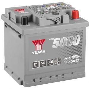 Yuasa YBX5012 Car Battery
