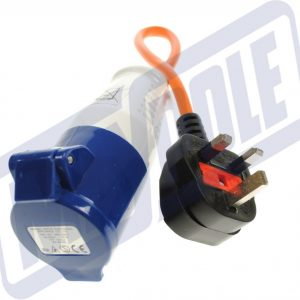 MAYPOLE 230V UK Hook-Up Lead