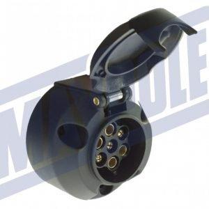Maypole 7 Pin Plastic Socket and Fog Lamp Cut-Off