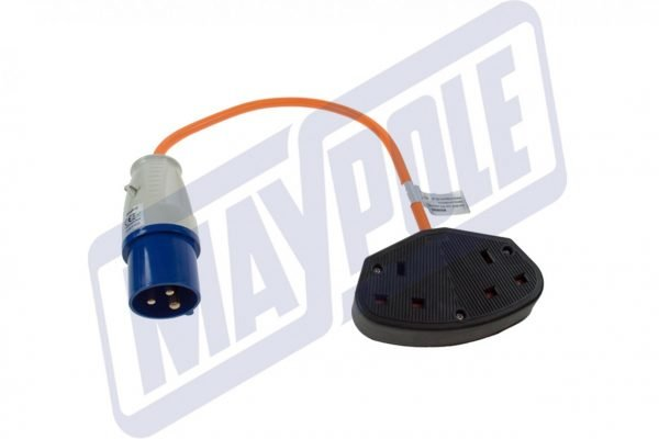 Maypole Caravan 230V UK Twin Trailer Socket