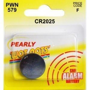 Pearl PWN579 Car Alarm Battery CR2025