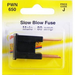 Pearl PWN650 Slow Blow male Fuse - 80amp