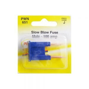 Pearl PWN651 Slow Blow male Fuse - 100amp