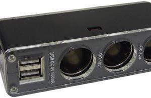 Streetwize 3 in 1 12v Power Sockets