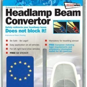 Streetwize Headlight beam convertor