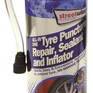 Streetwize single tyre sealer 450ml