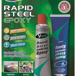 V-tech rapid steel epoxy