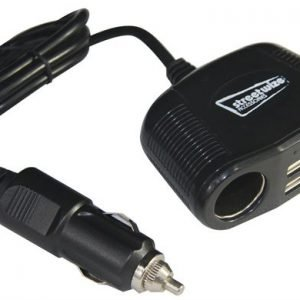 streetwize twin power sockets and twin usb
