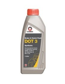 Comma DOT 3 Brake & Clutch Fluid - 1L