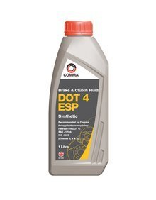 Comma DOT 4 ESP Brake & Clutch Fluid - 1L