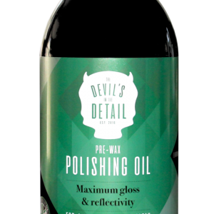 The Devil's in the Detail Pre-Wax Polishing Oil
